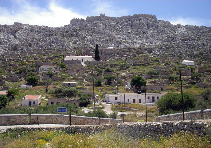 Palaio Chorio and the Knights' Castle