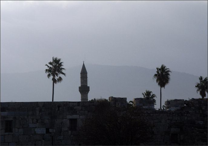 Storm brewing over Kos town