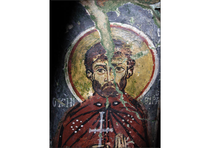 Theodore of Kythera, from the cave-church of Ag. Sophia