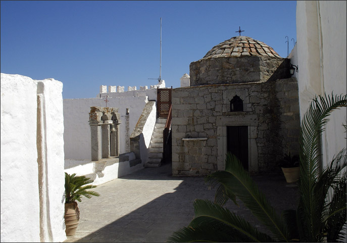 Chapel of the Holy Cross on the roof of the Monastery