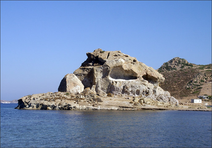 The Kalikatsou rock