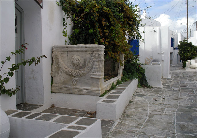 Ancient Sarcophagus in Kastro
