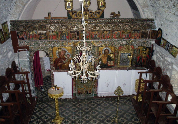 Church of the Nativity of the Virgin, Skopelos